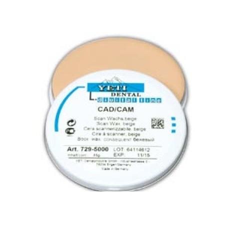 Cire à scanner CAD/CAM beige Yeti 45g