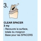 Spacer Clear Yeti 20ml ***voir nvelle ref 501-0018