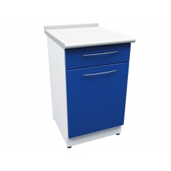 Meuble E37 1 porte + tiroir + étagère