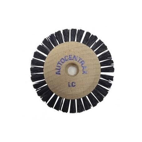 Brosses 55/1 rg droites centre bois Autocentrax soie noire rude