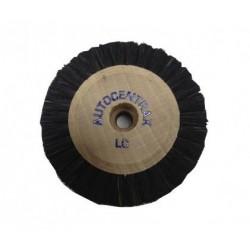 Brosses 60/4 rgs convergentes centre bois autocentrax soie noire extra rude