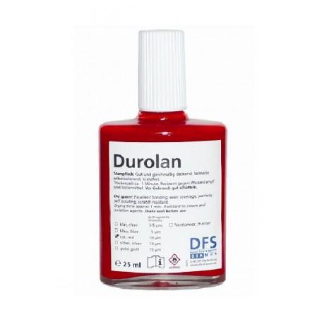 DUROLAN, Vernis rouge 10 µ