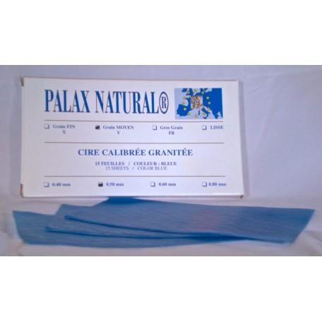 Cire granitée PALAX NATURAL