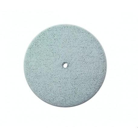 Poliss. en silic., roue 22mm, gris clair 100 pces.