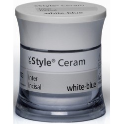 IPS Style Ceram Inter Inc 20g white-blue