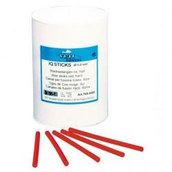 Tiges De Cire 4mm Rouges IQ STICKS Ronds