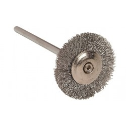 Brosses en fils d'argent, 19mm 12 pces.