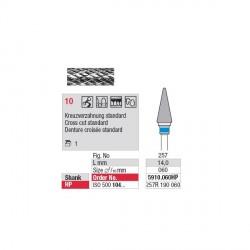 Fraise Carbure Tungstène denture croisée standard 10
