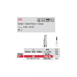 Fraise Carbure Tungstène Fissure 0.8 mm (x5) C23.104.008