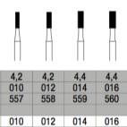 Fraises à finir cylindriques C31