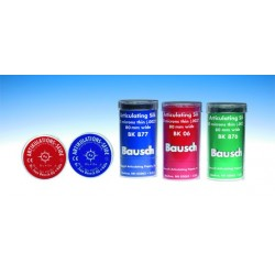 Soie d'Articulation 80µ BK07 bleue (ruban 16mm*10m)