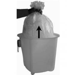 SACS PLASTIQUES BAC DE DECANTATION (x20)