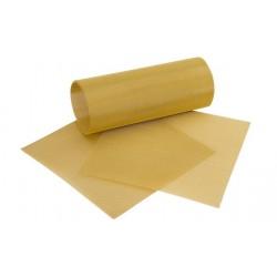 Treillis, fin, 50x10cm, doré rouleau