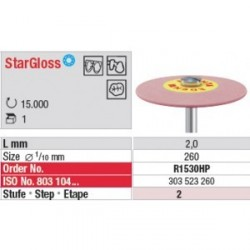 Polissoir StarGloss Rose Lentille 26 mm