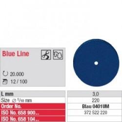 Polissoir Blue Line non monté Roue 22 mm (x100)