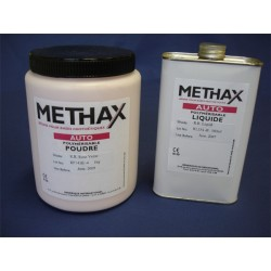 METHAX Thermo , Poudre Rose Veinée 5 Kg