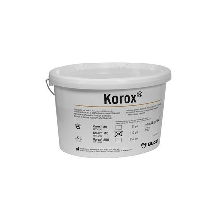 Korox 110 - Abrasif corindon raffiné