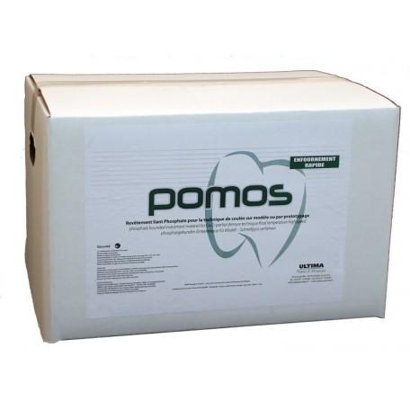 POMOS, revêtement 84x 220 Gr Avec liquide 1 L