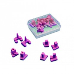 Supports de cuisson ceramique ( x8 ) 050512