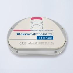 Disques zircone Ceramill Zolid FX Bleach 71