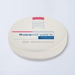 Disques zircone Ceramill Zolid FX Bleach 98
