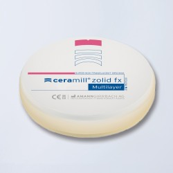 Disque zircone Ceramill Zolid FX Multilayer rond