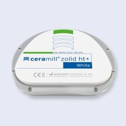Disques zircone Ceramill Zolid HT+ White