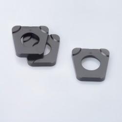 Contre-plaques Splitex noires
