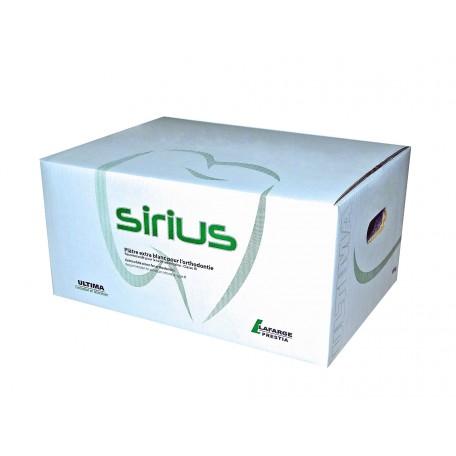 SIRIUS, plâtre d'orthodontie Cl.3, carton de 18 kg