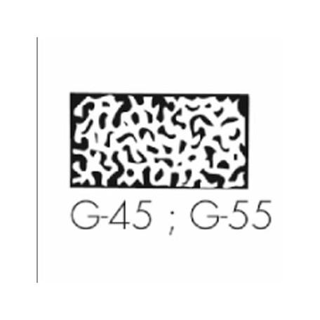 PREFORMES PLASTIF. G55, La plaquette